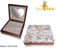 Real Shell Wedding Box