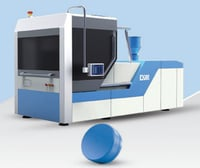 Rotary Cap Compression Moulding Machine