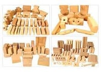 Element Holding Bricks and Coil Bricks