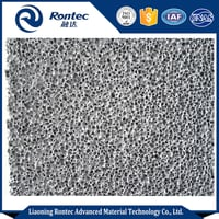 Open Cell Aluminum Foam Board Used For Sound Absorbing Ceilings