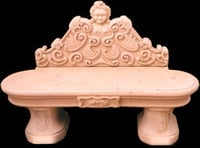 Sandstone Marble Bench