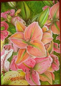 Beautiful Flower Canvas Painting