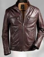 Mens' Brown Leather Jackets