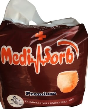 Medisorb Adult Pull Up Diapers