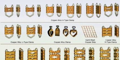 Copper Alloy U-Type Clamp