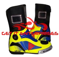 Dainese Valentino Rossi 2016 Motorbike Motorcycle Racing Leather Shoes