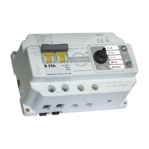 Lifeguard RCCB With Voltage Protection