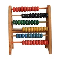 Abacus Wooden And Plastic Beads