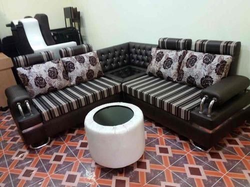 Steel Handle L Shape Sofa Set Quality Sofa And Furniture 41
