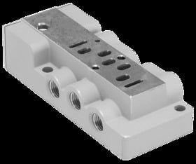 Valve Sub-Bases And Manifolds - W66 Series