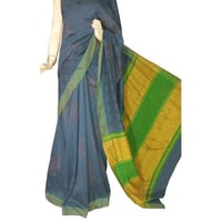 Exclusive Handloom Cotton Linen Saree
