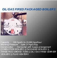 Oil And Gas Boiler