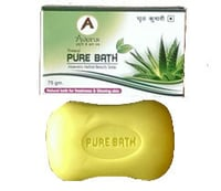 Pure Bath Aloevera Herbal Beauty Soap