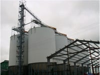 1000t Bolted Steel Rice Paddy Silo