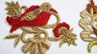 Parrot Handwork Embroidery
