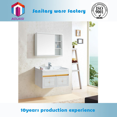 A-9182a Cabinet With Classic Mirror Bathroom Vanity Cabinet