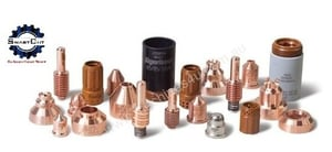 Brass Electrode And Nozzles