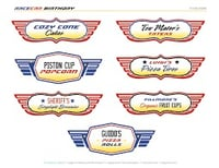 Labels For Automobile
