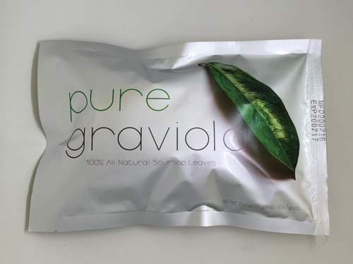 Air Dried Graviola Leaves in Tea Bags