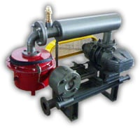 Compressor In Vacuum Duty And Booster