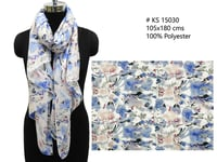 Pure Polyester Printed Scarves