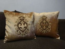 Beads Embroidery Cushion Covers