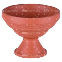Clay Rimmed Icecream Cup