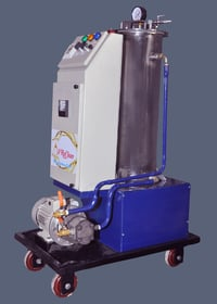 Electrostatic Oil Cleaner And Polisher