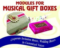 Musical Gift Boxes