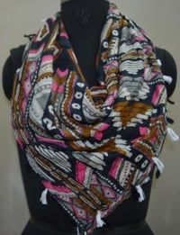 Fabric Printed Cotton Scarves