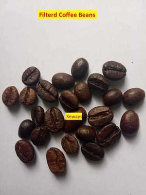 Brown Filtered Coffee Beans