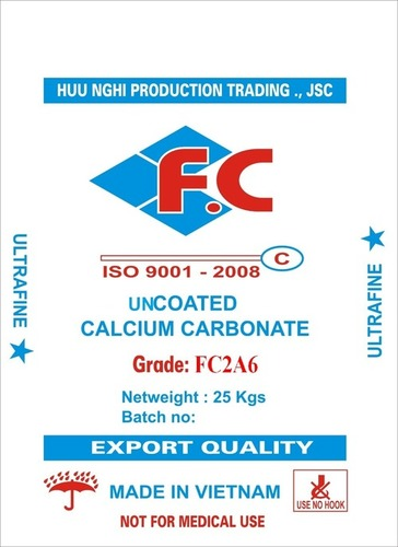Uncoated Calcium Carbonate FC2A6