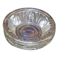 Silver Coated Paper Bowl