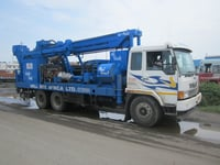 Dth Cum Rotary Water Well Drilling Rig