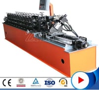 PLC Controlling EPS Sandwich Panel Roll Forming Machine