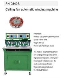 FH-0840B Ceiling Fan Automatic Winding Machines