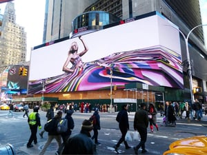 HD Outdoor LED Digital Video Display Screen For Advertising