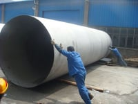 Dewei 304 Stainless Steel Welded Pipes