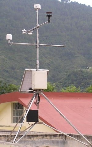 Fully Automatic Weather Station