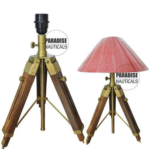 Attractive Pattern Tripod Stand Lamps