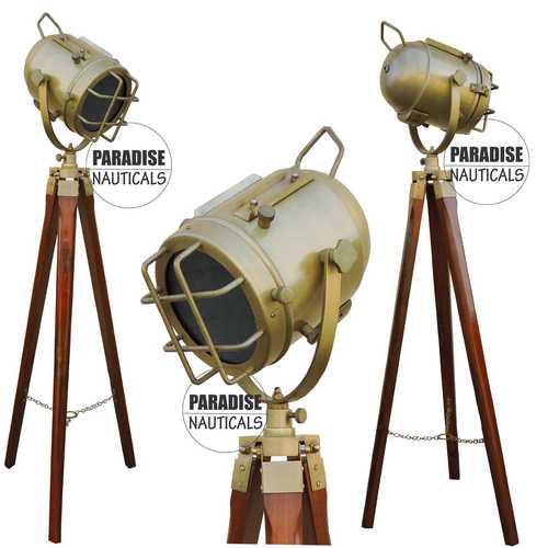 Precise Antique Tripod Floor Lamps