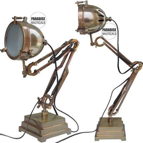 Royal Antique Brown Desk Lamp