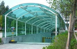 High Durability Polycarbonate Sheds