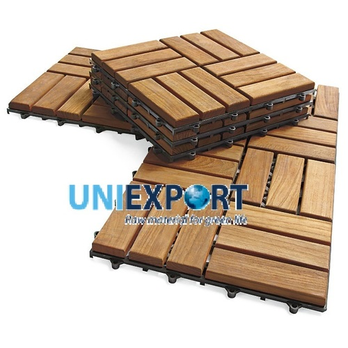 Outdoor Flooring Tiles from Acacia Wood