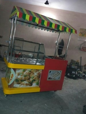 Commercial Stainless Steel Chaat Counters
