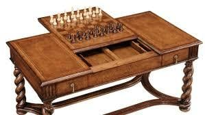 Wooden Chess Tables