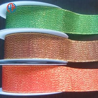 Gift Wrap Decoration Woven Silk Glitter Ribbon