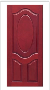 Panel Oval Texture Moulded Doors