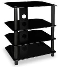 Four Tiered Metal Tv Stand