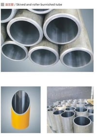 Hydraulic Cylinder E355 St52 Seamless Honed Tubes Cold Drawn Pipe